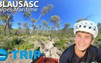 VTT Enduro dans le 06 - Corto, 14 ans me donne une leçon sur les Trails de Blausasc !