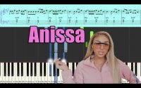 WEJDENE - ANISSA - PIANO TUTORIEL SYNTHESIA PARTITION