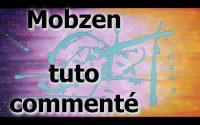 """""""MOBZEN"""" tutoriel commenté en acrylique abstraite."""