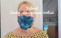 tutoriel masque avec coulisse recycle ton armoire