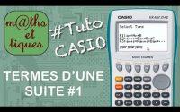 SUITES : Calculer les termes d'une suite (1) - Tutoriel CASIO