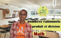 2ème collège / leçon 4 : nombres rationnels ( produit et division )