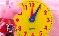 Apprendre l'heure en Français avec Peppa Pig Leçon 1