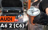 Changer un filtre à carburant sur AUDI A6 (C6) [TUTORIEL AUTODOC]