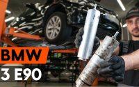 Changer un filtre à carburant sur BMW 3 (E90) [TUTORIEL AUTODOC]