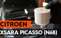 Changer un filtre à carburant sur CITROEN XSARA PICASSO (N68) [TUTORIEL AUTODOC]