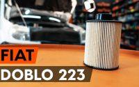 Changer un filtre à carburant sur FIAT DOBLO 1 (223) [TUTORIEL AUTODOC]