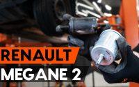 Changer un filtre à carburant sur RENAULT MEGANE 2 (LM) [TUTORIEL AUTODOC]