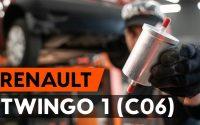 Changer un filtre à carburant sur RENAULT TWINGO 1 (C06) [TUTORIEL AUTODOC]