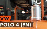 Changer un filtre à carburant sur VW POLO 4 (9N) [TUTORIEL AUTODOC]