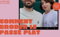 Comment broder en passé plat - Tutoriel broderie par Happy as a bee !