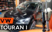 Comment remplacer amortisseur arrière une VW TOURAN 1 (1T3) [TUTORIEL AUTODOC]