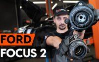 Comment remplacer coupelle d'amortisseur avant sur FORD FOCUS 2 (DA) [TUTORIEL AUTODOC]