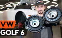 Comment remplacer coupelle d'amortisseur avant sur VW GOLF 6 (5K1) [TUTORIEL AUTODOC]