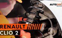 Comment remplacer des amortisseurs avant sur une RENAULT CLIO 2 TUTORIEL   AUTODOC