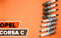Comment remplacer des bougie d'allumage sur une OPEL CORSA C TUTORIEL | AUTODOC