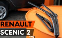 Comment remplacer des essuie-glaces sur RENAULT SCENIC 2 (JM) [TUTORIEL AUTODOC]