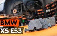 Comment remplacer des plaquettes de frein arrière sur BMW X5 (E53) [TUTORIEL AUTODOC]
