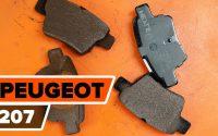 Comment remplacer des plaquettes de frein arrière sur PEUGEOT 207 [TUTORIEL AUTODOC]