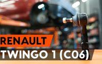 Comment remplacer des rotule de direction sur RENAULT TWINGO 1 (C06) [TUTORIEL AUTODOC]