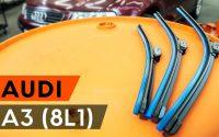 Comment remplacer essuie-glaces AUDI A3 1 (8L1) [TUTORIEL AUTODOC]