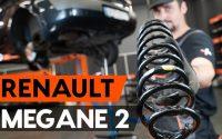 Comment remplacer ressort de suspension arrière sur RENAULT MEGANE 2 (LM) [TUTORIEL AUTODOC]