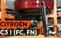Comment remplacer un amortisseur arrière sur CITROEN C3 1 (FC, FN) [TUTORIEL AUTODOC]