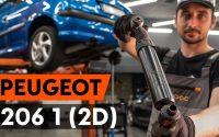 Comment remplacer un amortisseur arrière sur PEUGEOT 206 1 (2D) [TUTORIEL AUTODOC]