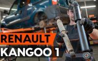 Comment remplacer un amortisseur arrière sur RENAULT KANGOO 1 (KC) [TUTORIEL AUTODOC]