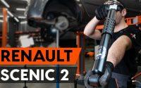 Comment remplacer un amortisseur arrière sur RENAULT SCENIC 2 (JM) [TUTORIEL AUTODOC]