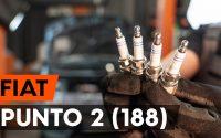 Comment remplacer un bougie d'allumage sur FIAT PUNTO 2 (188) [TUTORIEL AUTODOC]