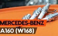 Comment remplacer un bougie d'allumage sur MERCEDES-BENZ A160 (W168) [TUTORIEL AUTODOC]
