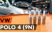 Comment remplacer un bougie d'allumage sur VW POLO 4 (9N) [TUTORIEL AUTODOC]