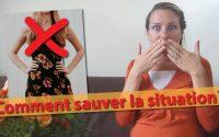 Comment sauver un vêtement trop décolleté ? - Leçon d'élégance pour apprenties-ladies (lycée)