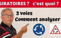 GIRATOIRES, 3 VOIES - Leçon # 43
