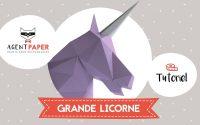 Grande licorne - Tutoriel