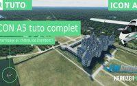 ICON A5 : tutoriel complet avec amerrissage au Château de Chambord sur Flight Simulator 2020
