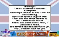 L'anglais pour tous en wolof leçon 63