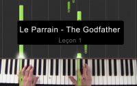 Le Parrain - The Godfather - Cours de piano pour débutants - Leçon 1