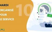 Leçon 10 - Mardi : Organisé Pour Le Service