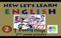 Leçon N°07 en Anglais pour la 2ème année de l'enseignement primaire