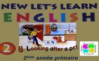 Leçon N°08 en Anglais pour la 2ème année de l'enseignement primaire