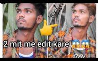 Picsart Moody Dark Cb Editing  Tutoriel by Sachin Kumar // Picsart Editing Background colour change
