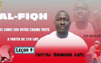 Programme yeeté | Fiqh (wolof)| leçon 9| Oustaz Ibrahima Gaye