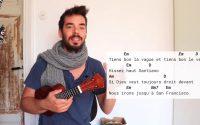 Santiano - Hughes Aufray - tutoriel ukulélé facile (français)