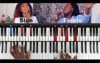 Sion - Fidèle: Tutoriel Débutant PIANO QUICK