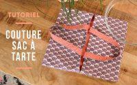 TUTORIEL | Couture débutant coudre un sac à tarte réversible