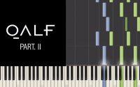 (Tutoriel) DEUX TOILES DE MER (Part. II) (Damso) - Sam Cruz Drew (Piano)