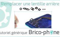 Tutoriel Générique : Remplacer une lentille de protection de caméra arrière