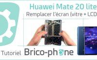Tutoriel Huawei Mate 20 lite : remplacer l'écran (vitre + LCD)